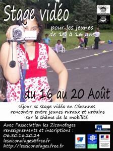 Stage vidéo Aout 2012