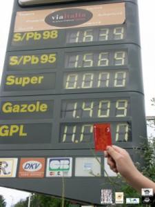 Tarif essence et tarif Tam